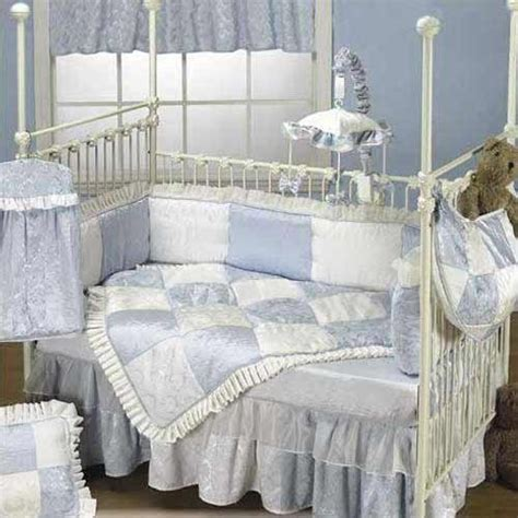 cheap baby doll bedding king crib bedding set blue