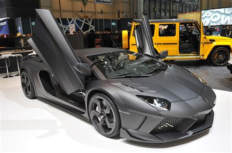 Handmade Luxury Cars - mansory carbonado shows us its skin autoblog