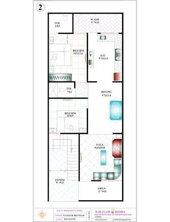 10 x 20 foot floor plan 20 x 50 sq ft working plans in 2019 house plans 20x40