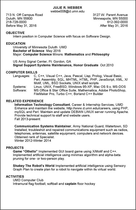 Objective Section Of Resume by Objective Section On Resume Resume Ideas