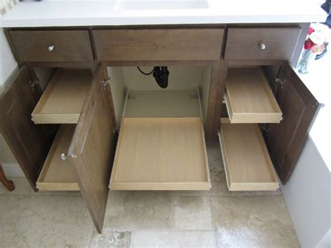 Pull Out Shelves Under Bathroom Sink Pull Out Shelves Bathroom Vanity Slide Out Shelves