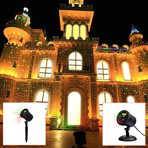 light blinking and green laser lights outdoor starry projector and green