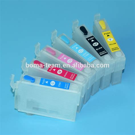 indonesia free printer resetter r290 for epson t0811 t0816 printer ink cartridge with auto