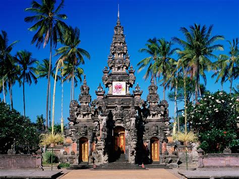 The Balinese visit beautiful indonesia bali