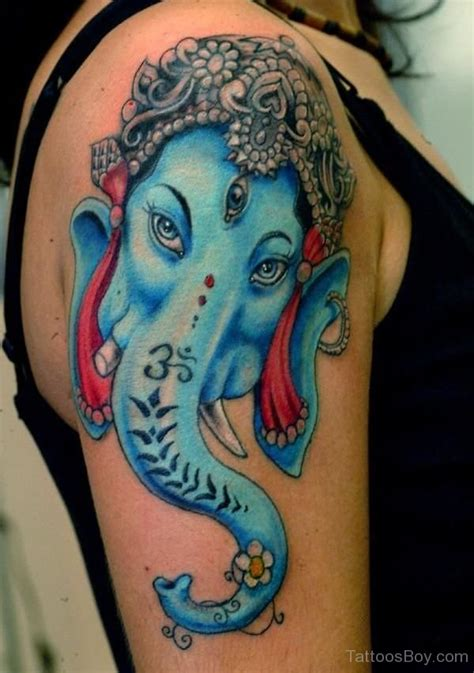ganesha tattoo shoulder hinduism tattoos tattoo designs tattoo pictures page 5