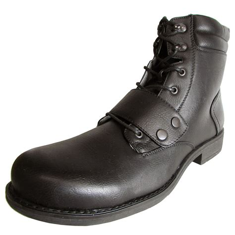 madden by steve madden mens m puckk lace up zip boot shoe