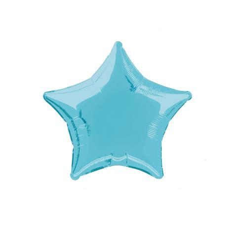 Balon Bintang Silver Mini baby blue foil balloon partysaurusland
