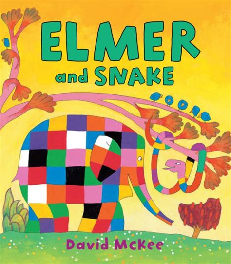 libro elmer and snake elmer and snake by david mckee hardcover barnes noble 174