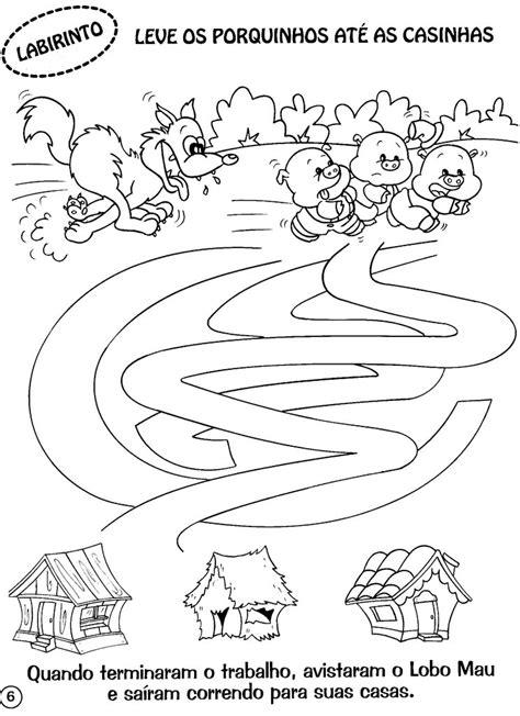 Educação infantil: OS 3 PORQUINHOS