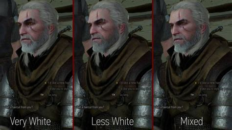 beard and hairstyles for geralt geralt hairworks colors and styles at the witcher 3 nexus