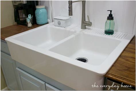 ikea apron front sink ikea farmhouse apron front sink sink and faucet home