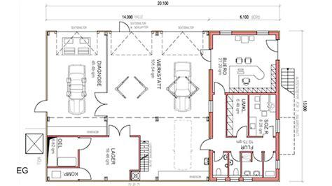 Garage Shop Floor Plans architekten naeve schroff sch 196 fer partnerschaft mbb