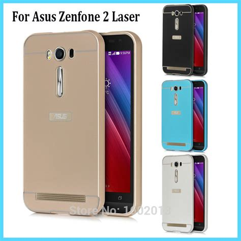 Casing Ultrathin Asus Zenfone 2 Laser 5 5 Inc Softcase Transparan aliexpress buy zenfone2 laser metal frame cover back cover for asus