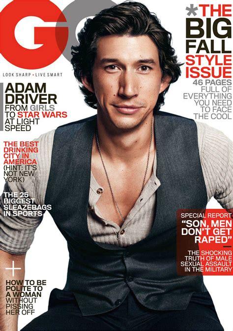 Adam Driver by Paola Kudacki for GQ Magazine