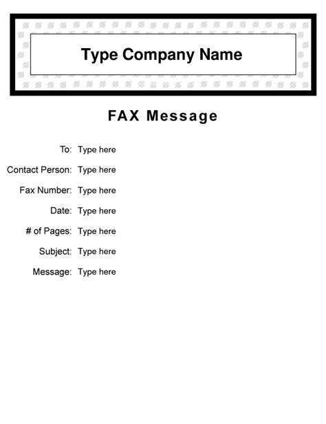 editable cover letter template 10 best images of free fax cover sheet clip