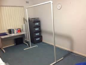 Pvc Room Divider Neat Kitchen How To Make Room Divider Without Drilling A In Your Rental Home