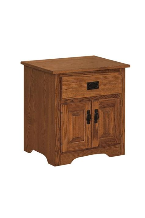 Country Mission Nightstand Amish Crafted - amish country mission nightstand from dutchcrafters