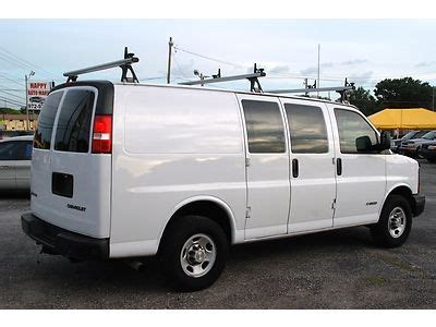how do cars engines work 2006 chevrolet express 3500 lane departure warning sell used 2006 chevrolet express 2500 cargo work van florida one owner in ta florida united