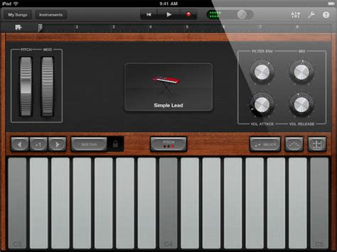 Garageband Questions Audio Of A Particular Scale Only In Garageband On