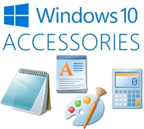 10 Accessories For by Accessories Folder Or Shortcut In Windows 10 Notes