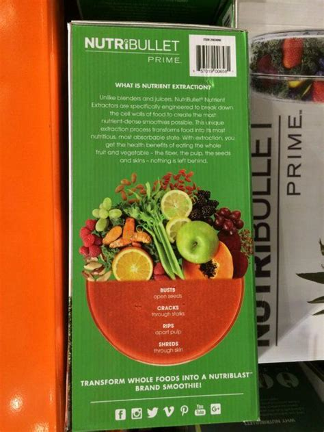 costco  nutribullet prime  extraction system  costcochaser
