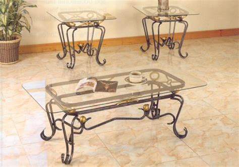 wrought iron coffee table design images photos pictures