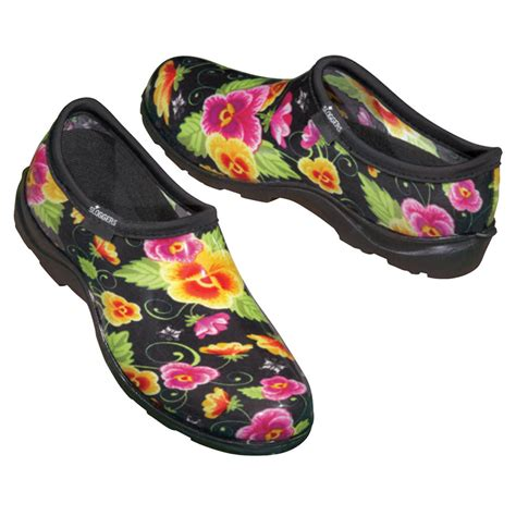 Garden Shoes by Black Pansy Sloggers Waterproof Garden Shoes Made In The