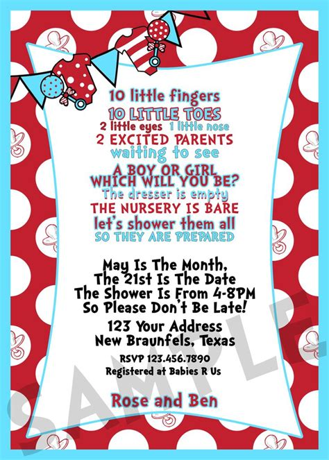 Dr Seuss Themed Baby Shower Invitations by Top 25 Best Christian Baby Shower Ideas On