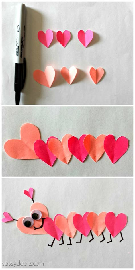 valentines crafts list of easy s day crafts for crafty morning