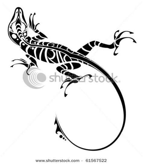tribal lizard tattoo lizard celtic design