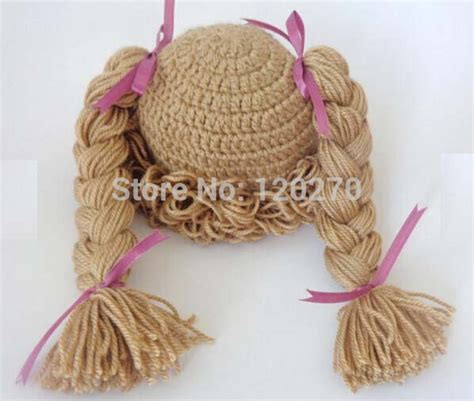 knitted hat looks like cabbage 100 handmade crochet knitted hat baby girl wigs cabbage