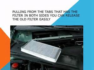 Peugeot 307 Pollen Filter Location How To Replace The Air Cabin Filter Dust Pollen Filter On