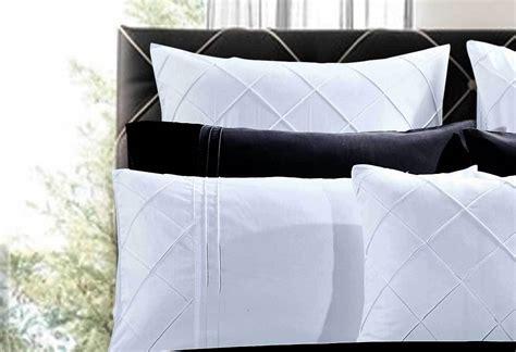 white bed linen australia king cross white quilt cover set luxton