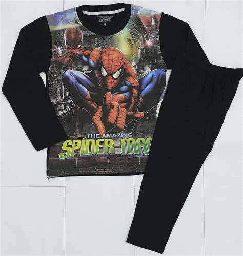 Baju Anak Anak 6 piyama anak hitam 1 6 grosir eceran baju