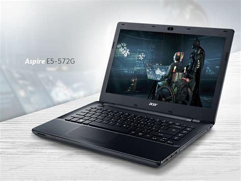 Laptop Acer Terbaru Beserta Spesifikasi acer aspire e5 572g spesifikasi laptop gaming bertenaga