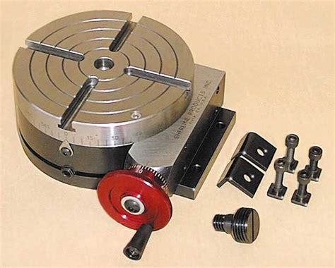 sherline rotary table chuck options