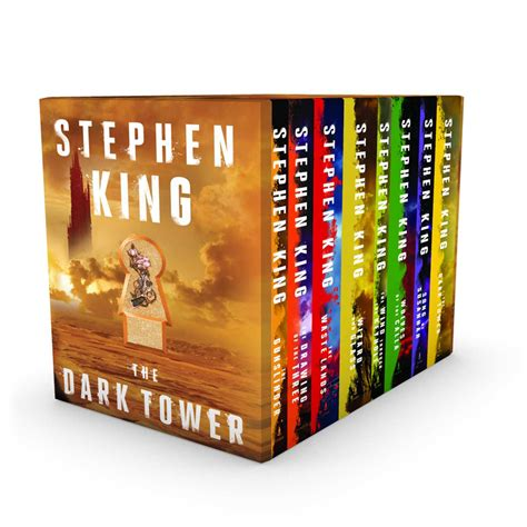 The Book Of Set the tower 8 book boxed set book by stephen king official publisher page simon schuster