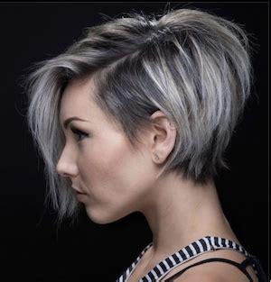 cheveux chatain meche grise coloration des cheveux moderne cheveux gris