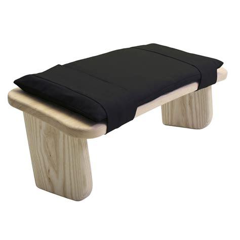 cushion for meditation stool zen black
