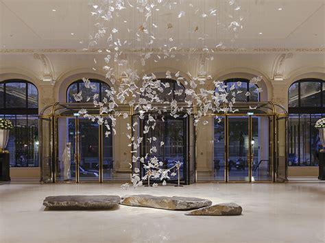 hotel light installation lasvit produce chandelier glass for peninsula darc magazine