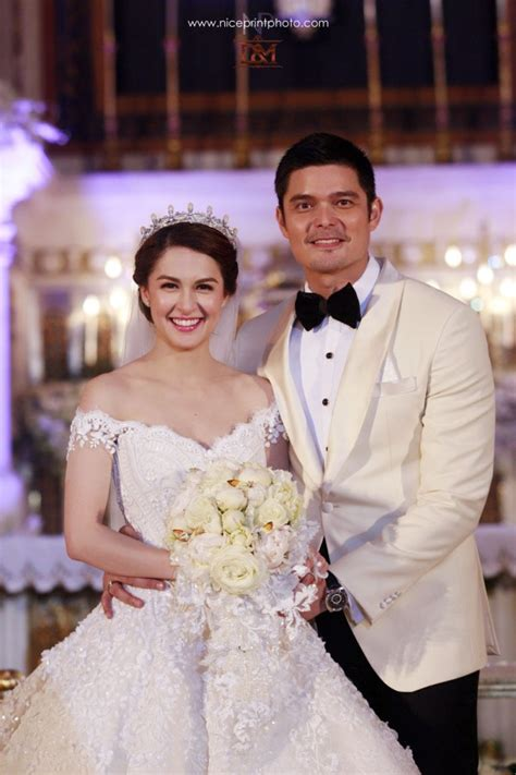 Dingdong Dantes Marian Rivera 'royal wedding' in photos