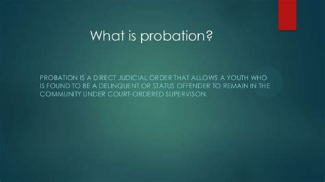 Can I Be A Probation Officer With A Criminal Record Probation Officers