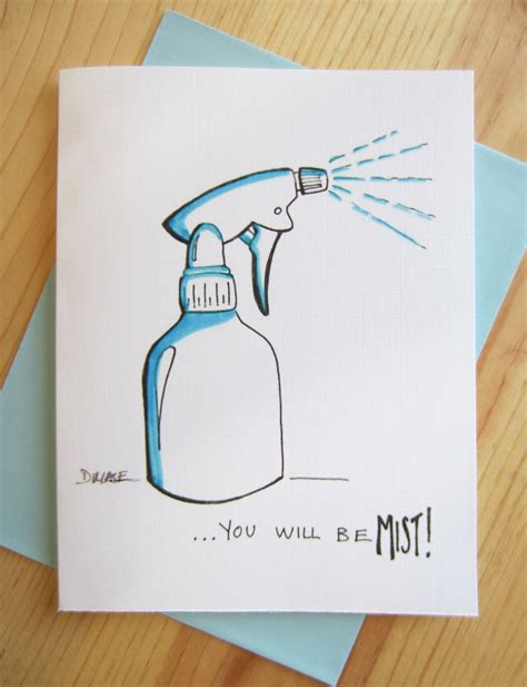 how to make goodbye cards farewell card mist by leftunattendedcomics on etsy