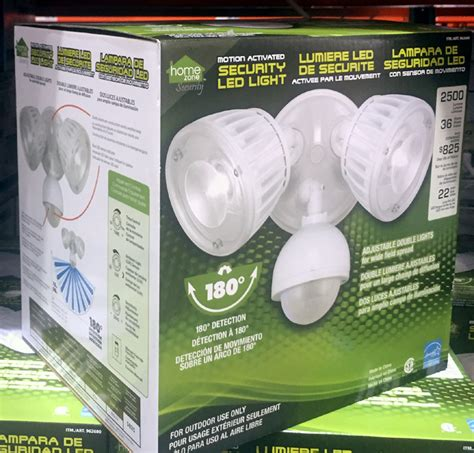 home zone security light new 2 sets home zone security motion activated led light