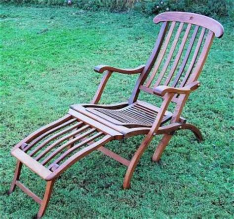titanic wooden reproduction deck lounge chair