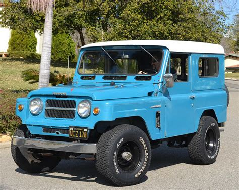 1967 nissan patrol scratch that off road itch with this no nonsense 1967