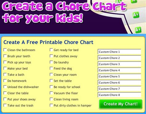mighty behaviour chart chart and parents