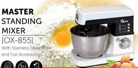 Oxone Stand Mixer Ox855 Ox 855 oxone master standing mixer murah ox855 mikser donut