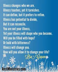 Words Of Comfort During Terminal Illness Quotes About Strength During Illness Quotesgram