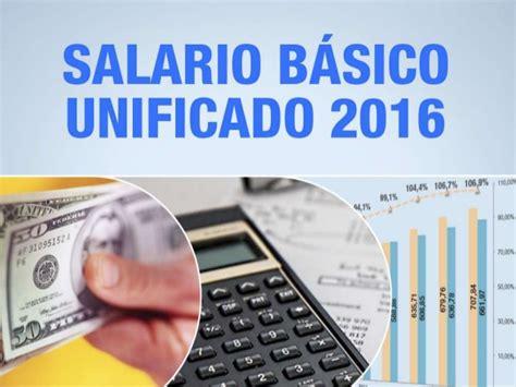 sueldo basico para 2016 best movie ec456 salario basico familiar 2016